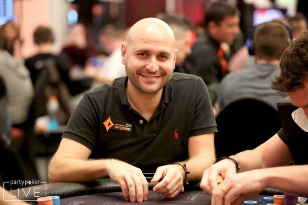 Roberto Romanello of Team partypoker fame