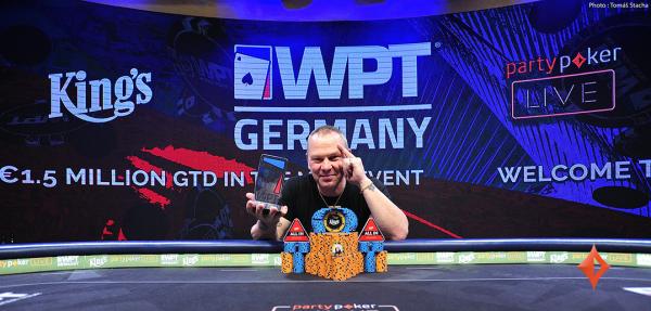 Vymeris and Zanasi Win Big at WPT Germany