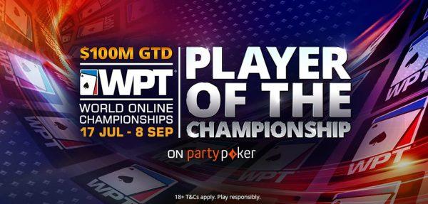 ¡Los rankings del WPT Online repartirán 100 mil dólares!