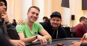 Tomi Brouk and Samuel Vousden