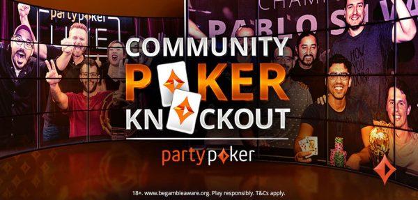 Hoy se juega un nuevo Community Poker Knockout