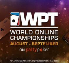 ¡El WPT® World Online Championships vuelve a partypoker!