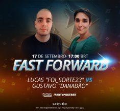 """Lucas """"Foi_sorte23"""" e Gustavo """"Danadão"""" disputam Fast Forward Challenge nesta sexta"""